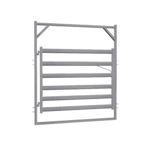 2.1m Cattle Rail Gate in Frame