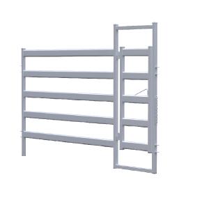 2.1m Bull Rail Manway Gate/Panel